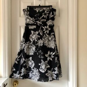 WHBM Strapless Convertible Dress